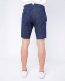 Men's Shorts - tiny white dots - back