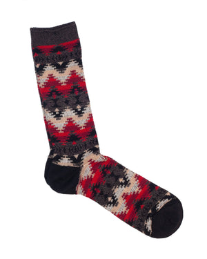 Anonymous Ism Socks | Black Misty Mountains