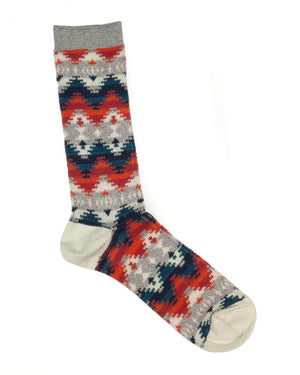 Anonymous Ism Socks | Grey Misty Mountains