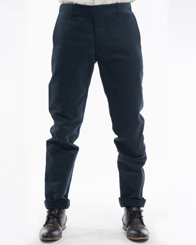 Navy Cord Pants - front