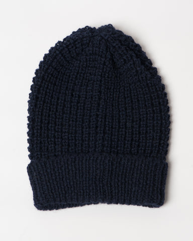 The Toque | Navy Wool