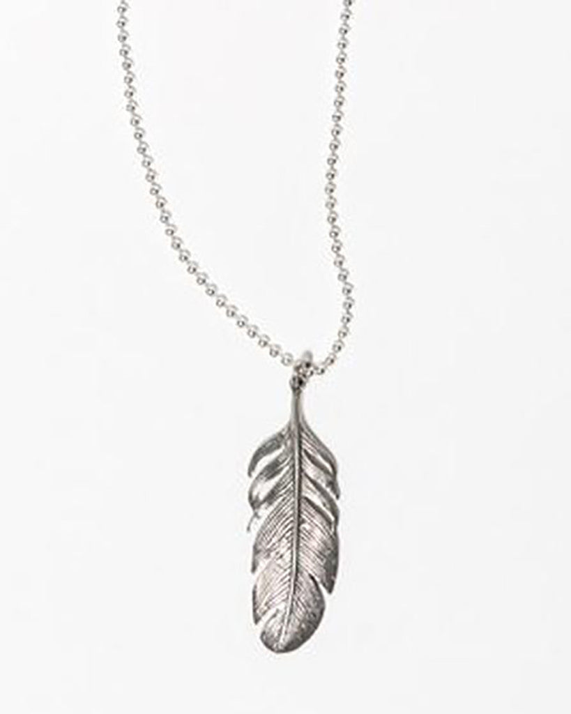 The Desert Blues Collection - Silver Eagle Necklace