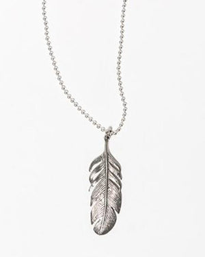 The Desert Blues Collection | Silver Eagle Necklace