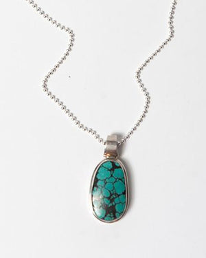 The Desert Blues Collection | Turquoise Stone Necklace