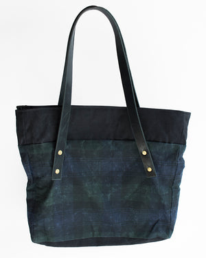 Plaid Tote Bag | 18 Waits