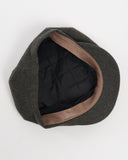 Olive Wool Cap - bottom