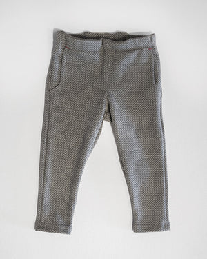 Charcoal Diamond jackrabbit trouser front