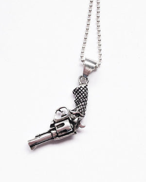 Hobo Series | The Pistolero Necklace | Silver