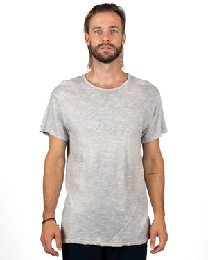 Signature T-Shirt | Slate Grey Slub