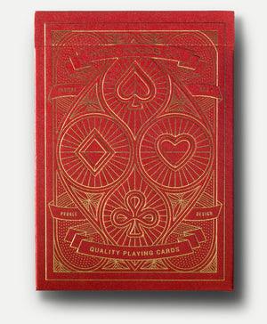 MISC Goods | Playing Cards | Red