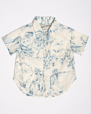 Cotton Short sleeve Living Dead shirt