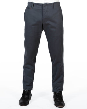 Mens Grey Trousers | 18 Waits | Front