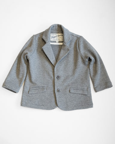 Hopper Hunter | Huckleberry Blazer | Charcoal Diamonds