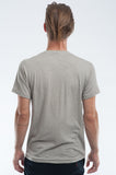 Grey Slub Jersey T-shirt Back