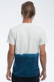 Cotton Indigo Dip Dye T-shirt Back