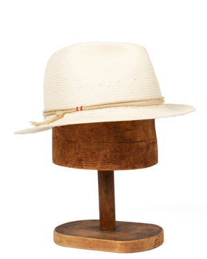 Steely Straw Hat | Natural