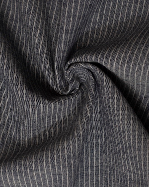 Fabric | Light Blue Pinstripe Cotton