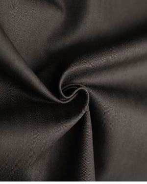Fabric | Charcoal Herringbone Twill