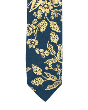 Tie | Gold Floral