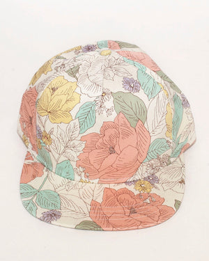 Casey Jones Cap | Light Flower Power