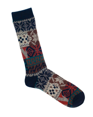 Anonymous Ism Socks | Winter Patchwork