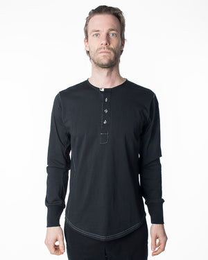 Black Long Sleeve | 18 Waits | Front