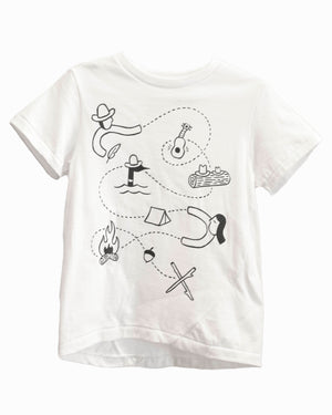 Skip Tee | Treasure Map