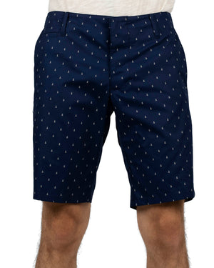 Slim Shorts | Navy Anchors