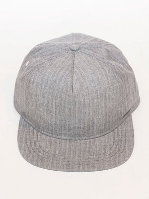 Casey Jones Cap | Grey Herringbone