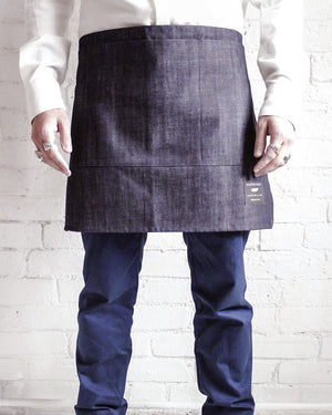 The Half Apron | Raw Denim