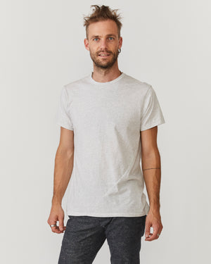 Signature T-Shirt | Grey Melange