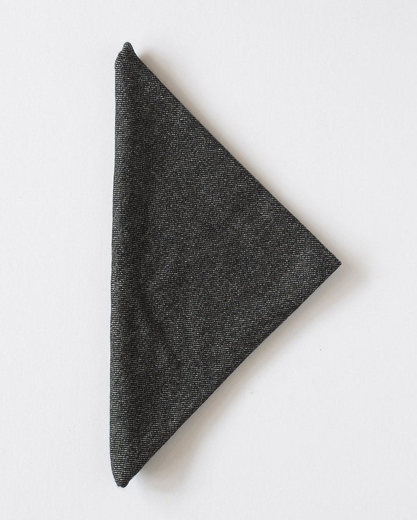 The Bandana | Charcoal Twill Flannel