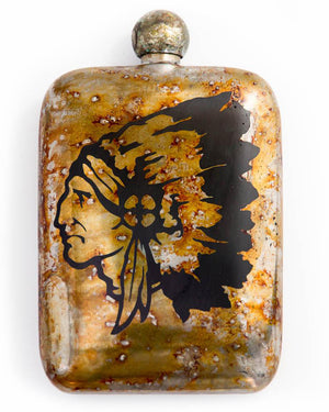 Sneerwell Flask | Cheiftain Tarnished | front