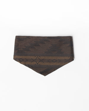Kids Brown Bandana | Hopper Hunter | Front