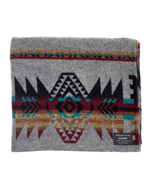 Blanket | Grey Aztec