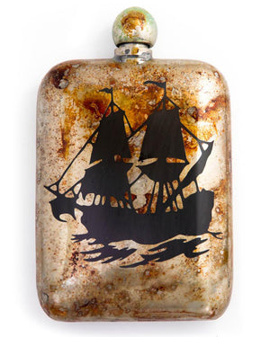 Sneerwell Flask | Frigate Tarnished | Front