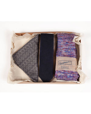 Gift Box 3 | Pocket Square, Tie, Socks