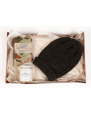 Gift Box 1 | Socks, Toque, Candle