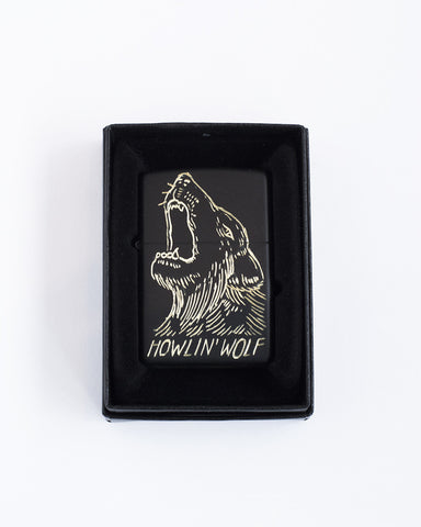 Matte black Wolf lighter