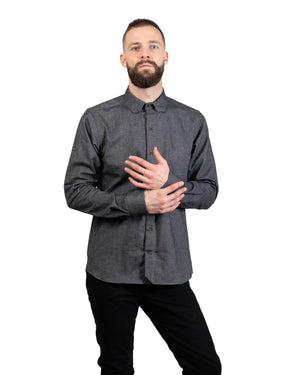 Sterling Shirt | Onyx Flannel