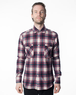 Red Plaid Shirt | 18 Waits | Front