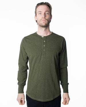 Green Long Sleeve | 18 Waits | Front