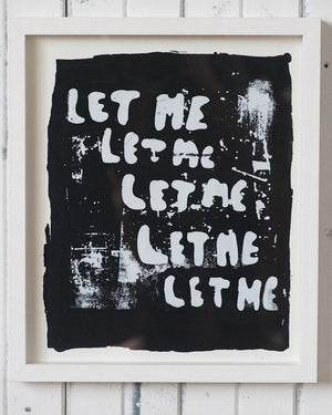 18 Waits Limited Edition Print | LET ME
