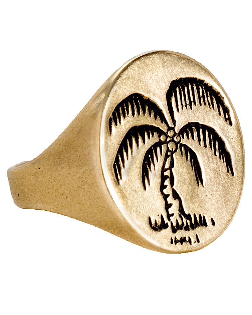 LHN | Palm Tree Signet Ring