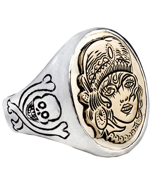 LHN | Gypsy Signet Ring