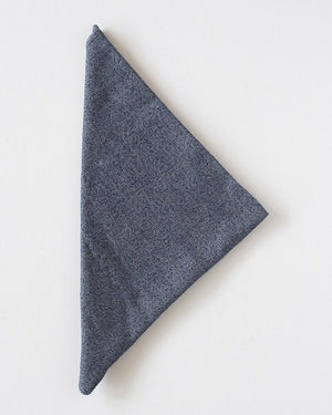 The Bandana | Navy Herringbone