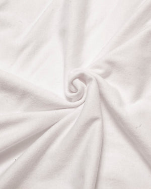 Fabric | White T-Shirt Jersey