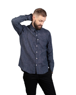 Dylan Shirt | Tiny White Dots