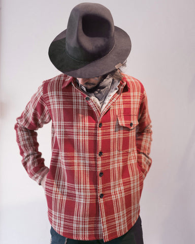 Small Batch | Red Plaid Weekender