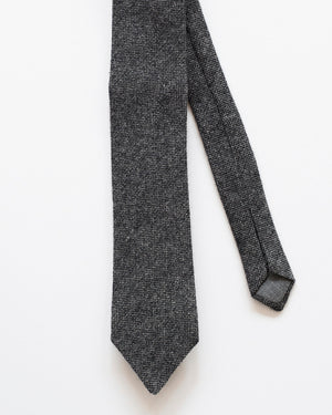 The Tie | Charcoal Wool